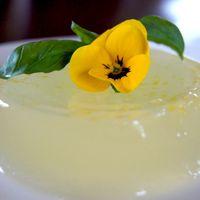 Vegan citroen pudding