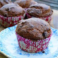 Bananenbrood muffins