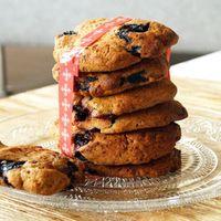 Bosbes koekjes