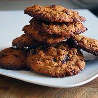 Gemberkoeken met chocolade en pecannoten!