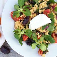 Salade met gierst