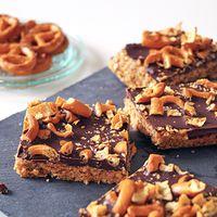 Snackreep met chocolade en pindakaas