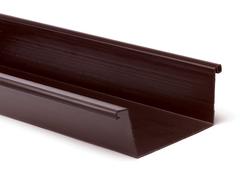 Bakgoot PVC bruin