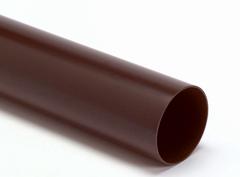 PVC regenpijpen & hulpstukken bruin