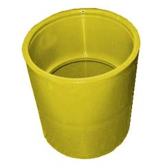 invoerbocht-lijmmof-geel