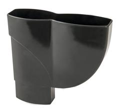 nicoll-ovation-zwart-hamvormige-verzamelbak