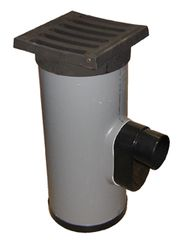 PVC STRAATKOLK COMPLEET