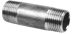 RVS-pijpnippel