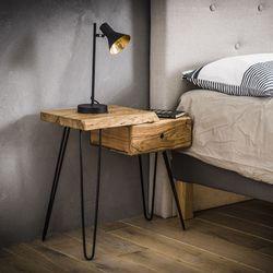 ahaus-ladenkast-nachtkastje-spiegelbeeld-accacia-hout-1