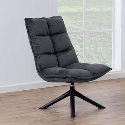 stormen-draai-fauteuil-grijs-velours-stof-1