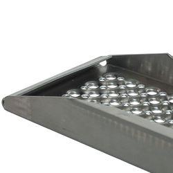 Aluminium oprijplaat - 200 cm - 300 kg - 2 stuks 3