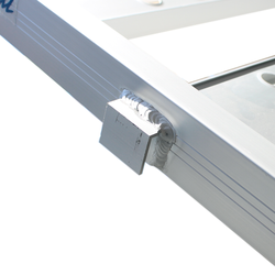 Aluminium oprijplaat inhaakbaar - 195 cm oprijgoot rijplaat plaat 4