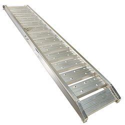 Aluminium oprijplaat - extra sterk 240 cm oprijgoot oprijhelling 2