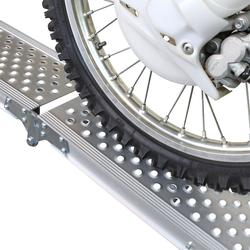 Aluminium oprijplaat compact twee keer inklapbaar - 195 cm - 2 stuks 3