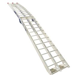 Aluminium oprijplaat 225 cm rijplaat oprijgoot rijplank 5