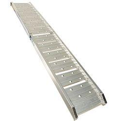 Oprijplaat aluminium opvouwbaar - 182 cm (2 stuks) 4
