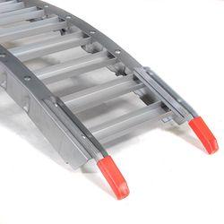 Oprijplaat inklapbaar rijplaat 213 cm aluminium rijgoot 4