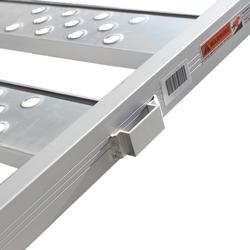 Aluminium oprijplaat inhaakbaar - 195 cm (3 stuks) 4