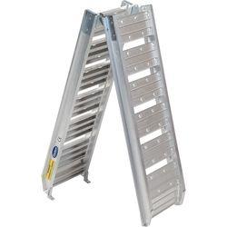 Oprijplaat aluminium opvouwbaar - 182 cm (2 stuks) 2