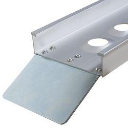 Oprijplaat rijgoot 190 cm aluminium rijplaat 2