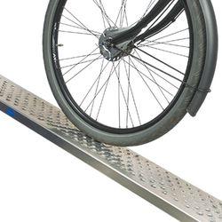 Oprijplaat rijplaat - 200 cm - aluminium rijgoot 2