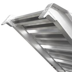 Aluminium oprijplaat - extra sterk 240 cm oprijgoot oprijhelling 5