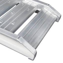 Aluminium oprijplaat  auto - 300 cm oprijgoot rijplaat 5