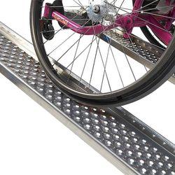 Aluminium oprijplaat met opstaande rand - 200 cm - 2 stuks 5