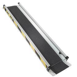 Aluminium oprijplaat - 150cm - inschuifbaar rijplaat rijgoot 2