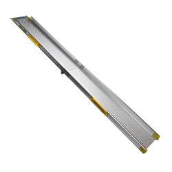 Aluminium oprijplaat opvouwbaar - 180 cm rijgoot rijplaat 4