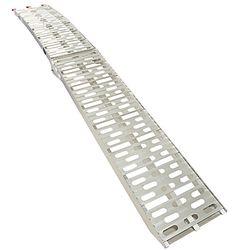 Extra stevige aluminium oprijplaat opklapbaar - 225 cm rijplaat rijgoot 4