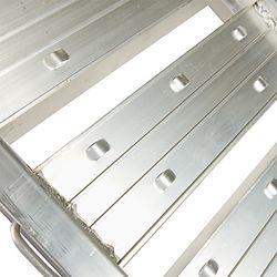 Aluminium oprijplaat - extra sterk 240 cm oprijgoot oprijhelling 4