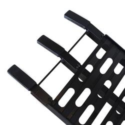 Extra sterke zwarte oprijplaat voor motoren - 225 cm rijplaat oprijhelling rijplank 3