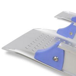 Drempelhulp voor rolstoel + gratis handige draagtas oprijhulp rijplaat 4