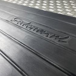 Zwarte drempelhulp 100 mm hoog van Datona voor drempels 2 stuks