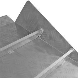 Drempelhulp 3-6 cm oprijhelling drempelhelling rijplaat