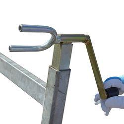 Set van twee spanband oprollers