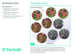 Beplantingsplan Julia
