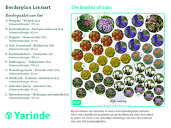 borderpakket lennart beplantingsplan