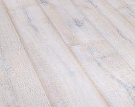 Eiken lamel parket dubbel gerookt wit geolied houten vloer 18 - Betegeld wit parket effect ...