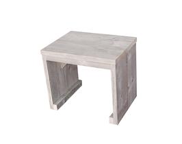 Steigerhouten kloostertafel kopen tafel balkhout for Tuintafel steigerhout bouwpakket