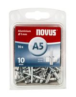 Novus Popnagels A5 X 10 mm Alu SB - 70 Stuks