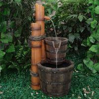 Velda Waterornament Bamboe Met 2 Bakken