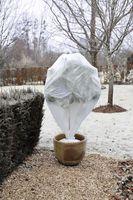 Nature Winterafdekhoes Wit 75x75cm ⌀48cm - 3 Stuks