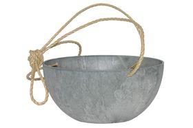 Artstone Hangpot Fiona Grijs ø 25cm H12
