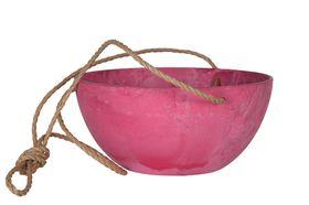 Artstone Hangpot Fiona Pink ø 25cm H12