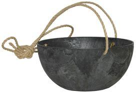 Artstone Hangpot Fiona Zwart ø 31cm H15