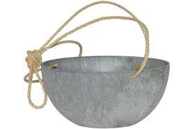 Artstone Hangpot Fiona Grijs ø 31cm H15