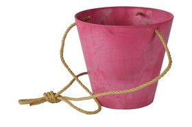 Artstone Hangpot Claire Pink ø 22cm H20
