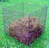 Compostkorf Groen 78 x 78 x 80 cm
